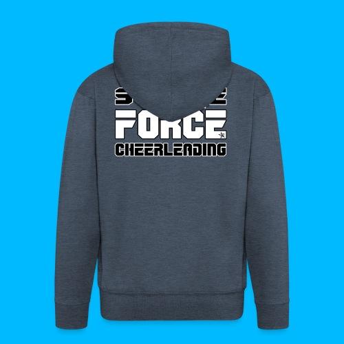 STRIKE FORCE - DRAWSTRING BAG - Men's Premium Hooded Jacket
