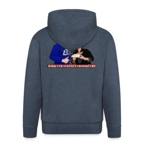 Mark und Yvonne Chaoskueche Logo - Männer Premium Kapuzenjacke