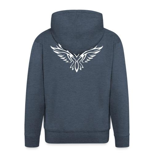 Springer FireHawk white - Veste à capuche Premium Homme