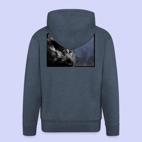 Lion night - Female shirt - Herre premium hættejakke