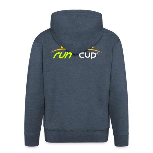 SPREADSHIRT_Atelier_Beach_run_v3_-1- - Veste à capuche Premium Homme