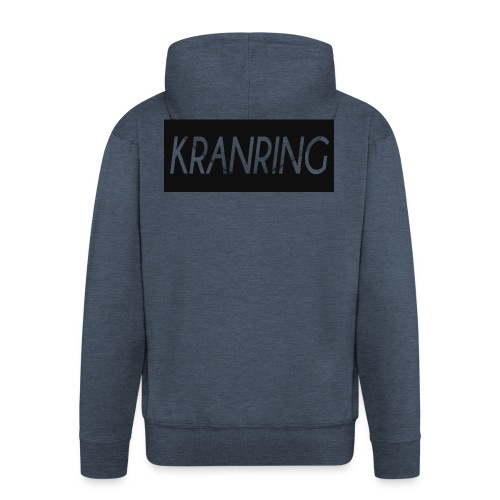 Kranring_Shirt_Logo - Premium-Luvjacka herr