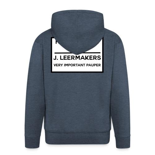 Huibertsfest - Mannenjack Premium met capuchon