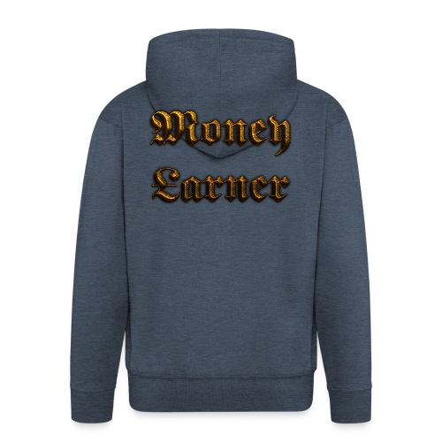 Cool Text Moneyarner 235668087714412 - Men's Premium Hooded Jacket