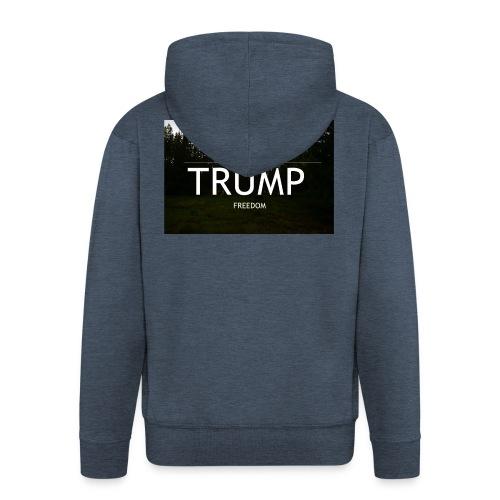 TRUMP, Freedom & Liberty - Men's Premium Hooded Jacket