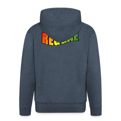 Reggae - Men's Premium Hooded Jacket