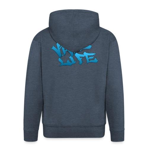 VAPE LIFE - Männer Premium Kapuzenjacke