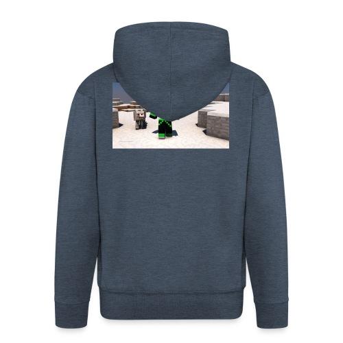t-shirt - Premium-Luvjacka herr