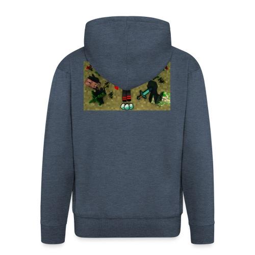 rebbeozelot19 Happy OcMalte01 T-Shirt - Men's Premium Hooded Jacket