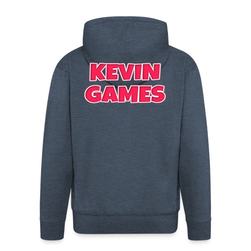 Maglietta KevinGames YouTube - Felpa con zip Premium da uomo
