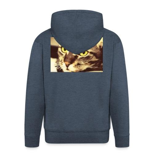 Cat - Miesten premium vetoketjullinen huppari