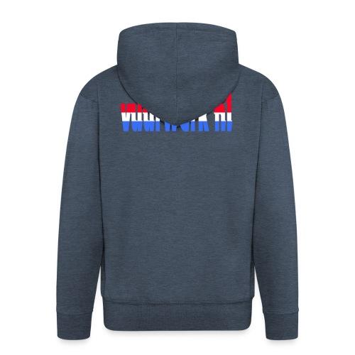 vuurwerk nl fan kleding - Mannenjack Premium met capuchon