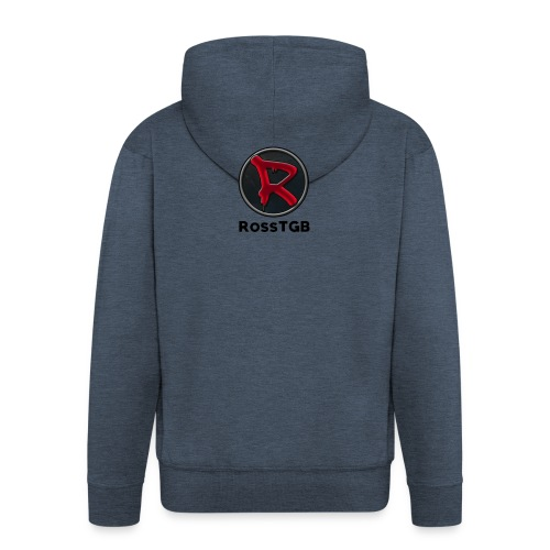 RossTGB LOGO - Men's Premium Hooded Jacket
