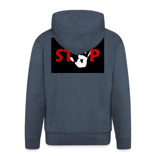 Anti- bullying armour - Men's Premium Hooded Jacket