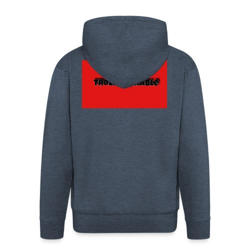 Trollblockable art - Men's Premium Hooded Jacket