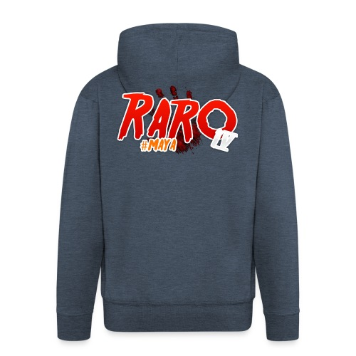 #Maya Raro Merch - Men's Premium Hooded Jacket