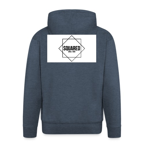 squared - Mannenjack Premium met capuchon