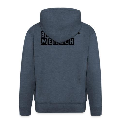 BergMensch#01 - Männer Premium Kapuzenjacke