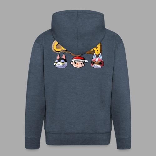 Animal Crossing CatGang - Männer Premium Kapuzenjacke
