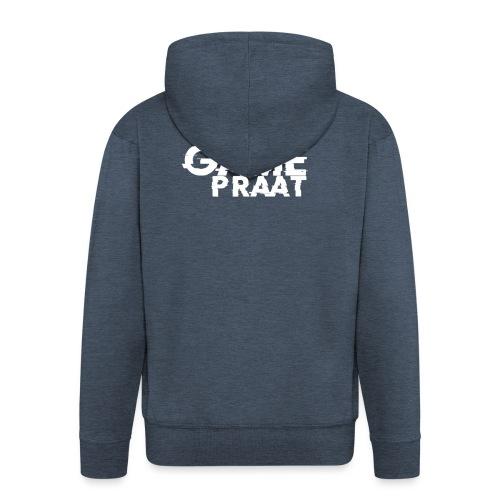 GamePraat T-Shirt - Mannenjack Premium met capuchon
