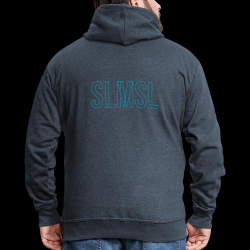 SLMSL Neon Vektor - Männer Premium Kapuzenjacke