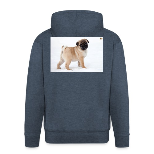 walker family pug merch - Men's Premium Hooded Jacket