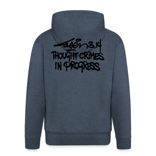 Thought Crimes In Progres - Men's Premium Hooded Jacket