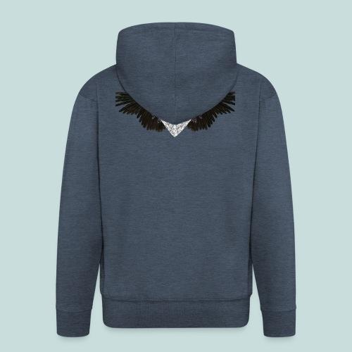 'Bling angel' - Men's Premium Hooded Jacket