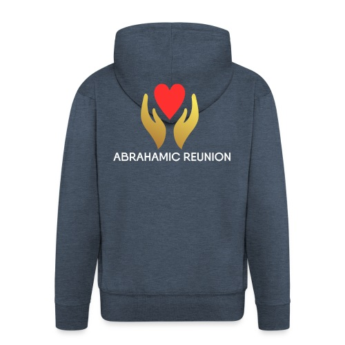 Abrahamic Reunion - Men's Premium Hooded Jacket