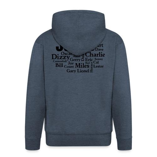 Jazz Greats - Männer Premium Kapuzenjacke
