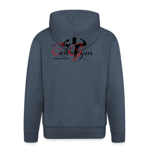 Cali Gym - Felpa con zip Premium da uomo