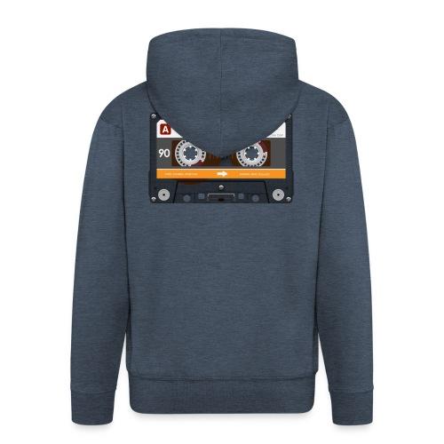 Cassette4 - Männer Premium Kapuzenjacke