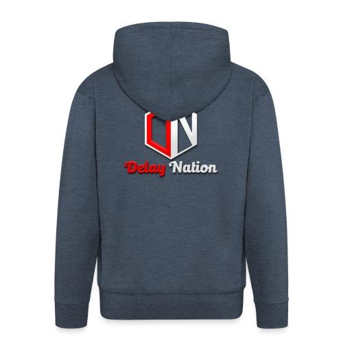 Delay Nation 2018 merch - Men's Premium Hooded Jacket