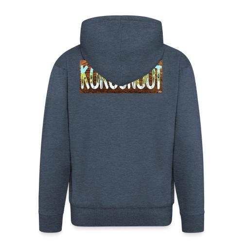 Kokosnoot - Mannenjack Premium met capuchon