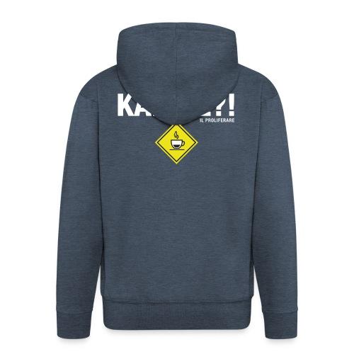 KAFFÈÈ?! by Il Proliferare - Felpa con zip Premium da uomo