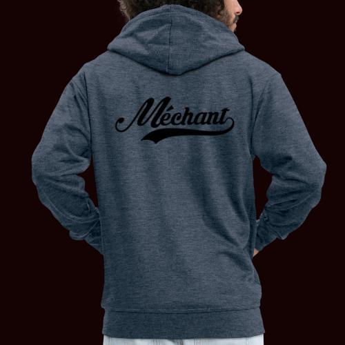 mechant_logo - Veste à capuche Premium Homme