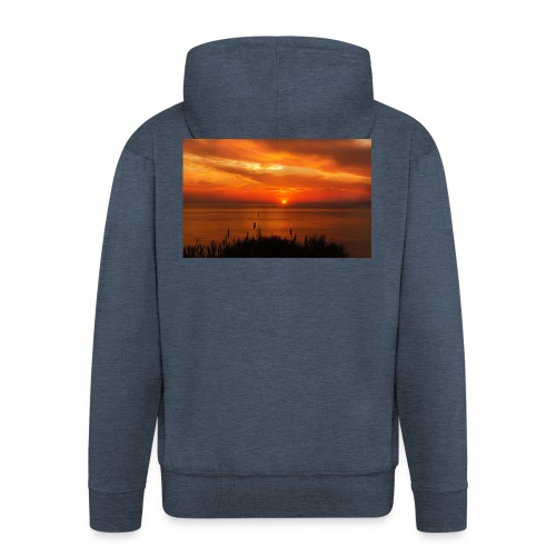 Sonnenuntergang - Männer Premium Kapuzenjacke