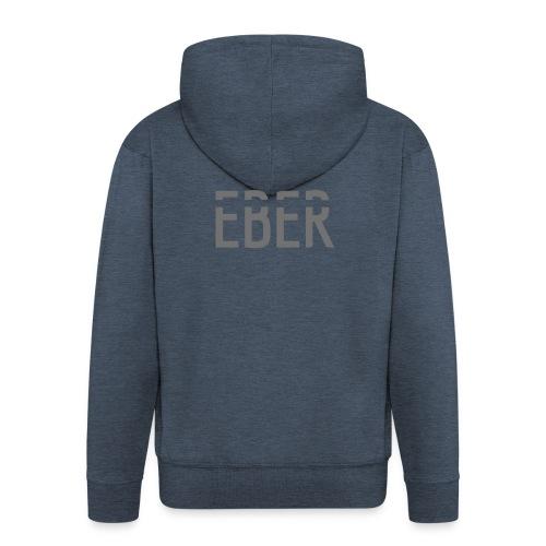 EBER: T-Shirt - Grey - Premium-Luvjacka herr