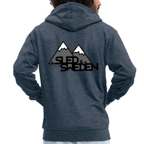 SledSweden Logo - Premium-Luvjacka herr