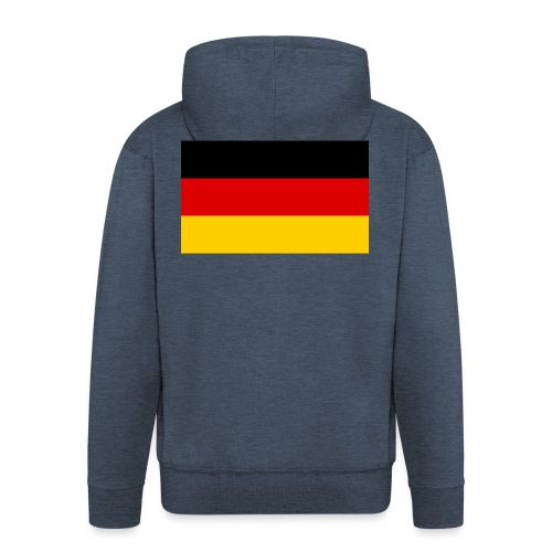 2000px Flag of Germany svg - Männer Premium Kapuzenjacke