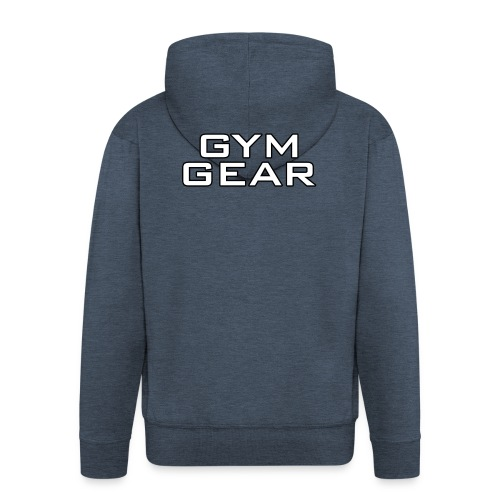 Gym GeaR - Men's Premium Hooded Jacket