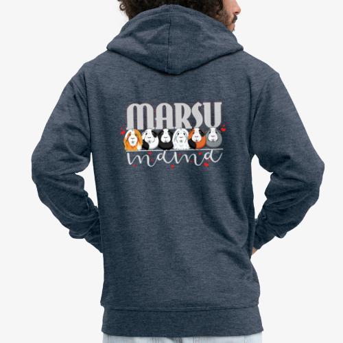 Marsumama II - Miesten premium vetoketjullinen huppari