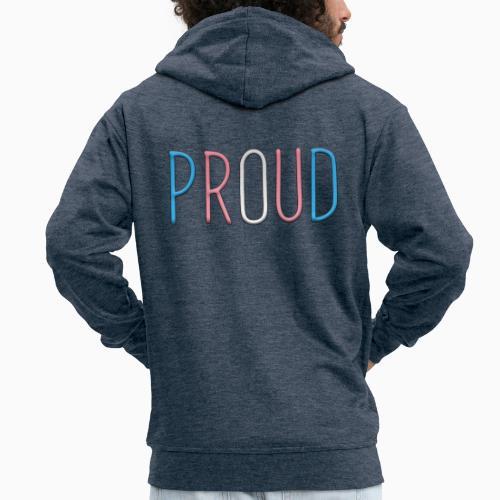 Transsexual - Men's Premium Hooded Jacket