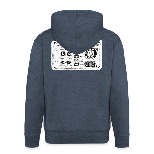 Drum Machine's R Ace! - Men's Premium Hooded Jacket