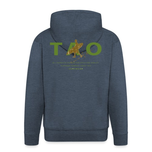 taosurfer_army - Männer Premium Kapuzenjacke