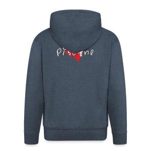 Amo Pisogne - Felpa con zip Premium da uomo