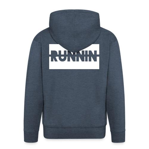 Runnin '| Exclusive - Men's Premium Hooded Jacket