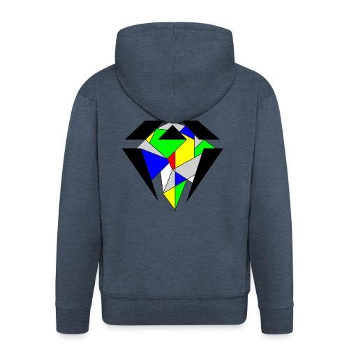 J.O.B. Diamant Colour - Männer Premium Kapuzenjacke
