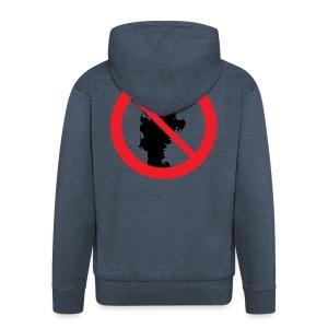 Jylland forbudt - Herre premium hættejakke