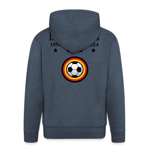 Moderne Fußball-T-Shirts Deutschland - Mannenjack Premium met capuchon